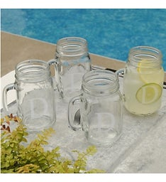 Classic Mason Jar Set of 4