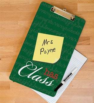 Teacher's Class Personalized Clipboard