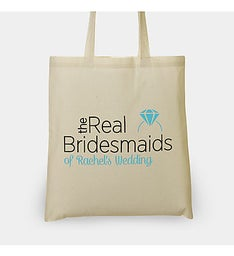 The Real Bridesmaids Personalized Tote Bag