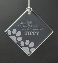 Personalized Paw Prints on Our Hearts