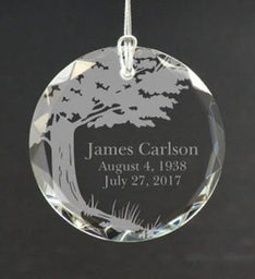 Personalized Memory of a Loved One Ornament