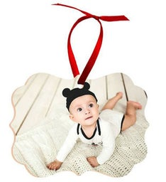Personalized Benelux Wood Ornament