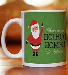 Personalized Ho Ho Home Coffee Mug