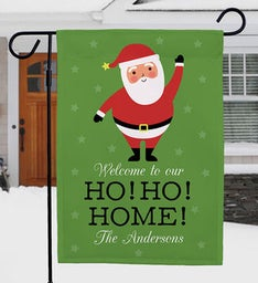 Ho Ho Home Garden Flag