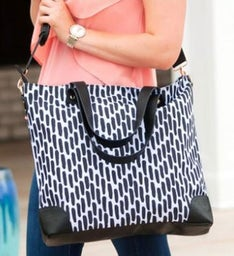 Personalized Carolina Night Shoulder Bag
