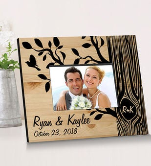 Personalized Tree Of Love Wooden Picture Frame