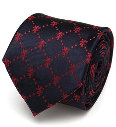 Lannister Lion Scattered  Mens Tie