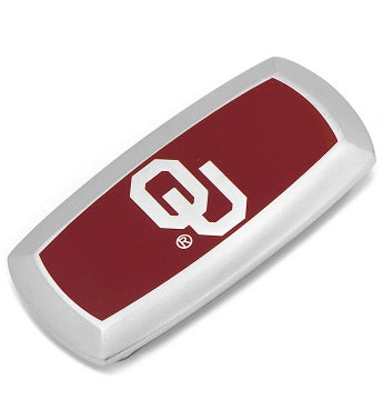 Oklahoma University Sooners Cushion Money Clip