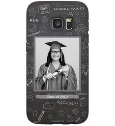 Custom School Chalkboard Samsung Galaxy S7 Case