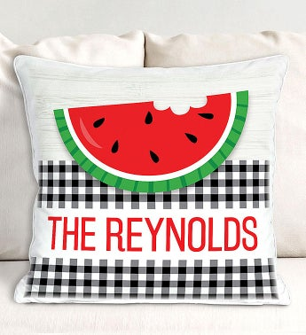 Personalized Happy Summer Pillow Case