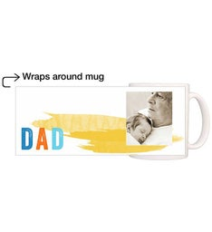 Personalized Dad Fathers Day Magic Mug