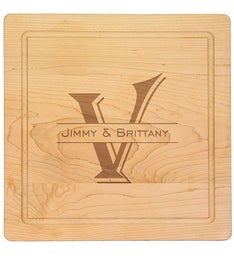 Personalized 14x14 Cutting Board