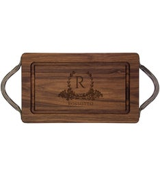 Personalized 13x8 Cutting Board with Handle