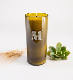 Eloquent Monogram Personalized Candle