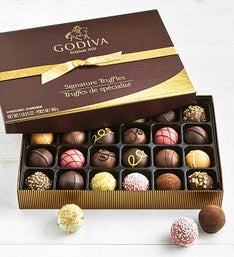 Godiva Signature Truffles Box - 24 Piece