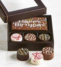 Simply Chocolate Birthday Bar & Truffles 4pc