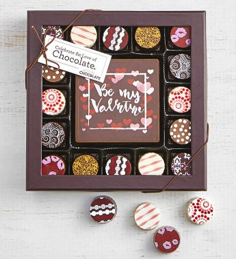 Simply Chocolate Valentines Bar and Truffles