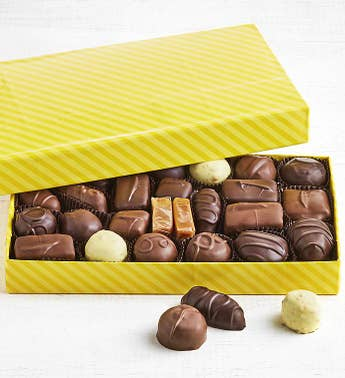 Fannie May Spring Wrap Assorted Chocolates 1 LB