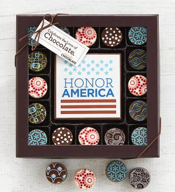 Simply Chocolate Honor America Bar & Truffles
