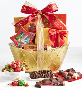 Exclusive 2018 Godiva Holiday Gift Basket