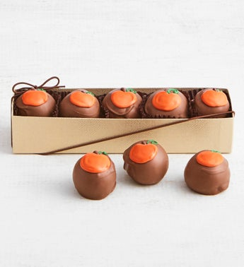 The Sweet Shop Pumpkin Truffle Flight