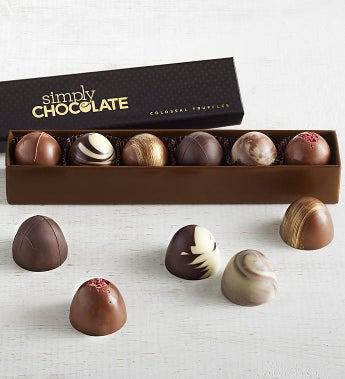 Simply Chocolate Colossal Truffles 6pc