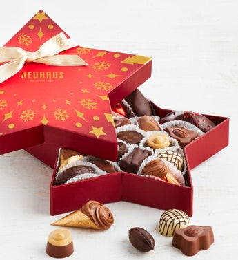 Neuhaus Holiday 2019 Belgian Chocolate Star Box