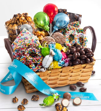 Simply Chocolate Birthday Sweets Basket