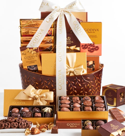 Exclusive Godiva Divine Chocolates Gift Basket
