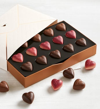 Neuhaus Love Letter Heart Chocolates Box 15pc