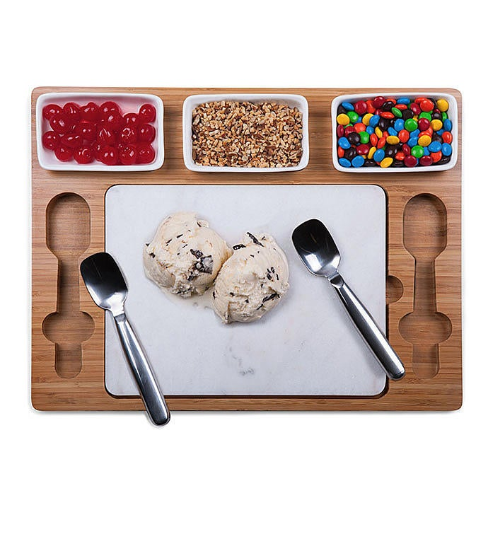Parlor Ice Cream Mixing Set