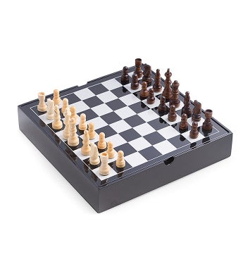 Wood Multi Game Set with Pizzazz
