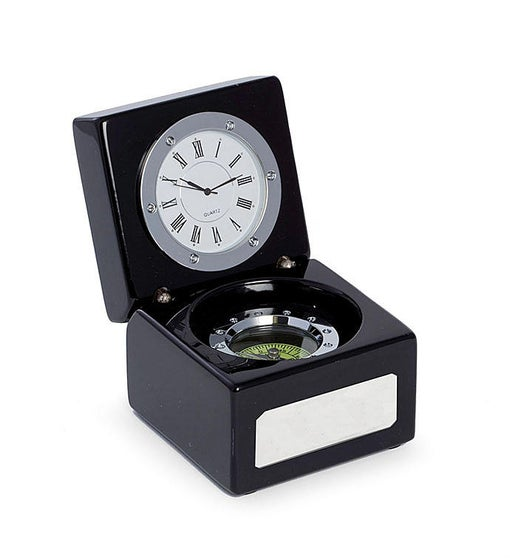 2 in 1 Clock & Compass
