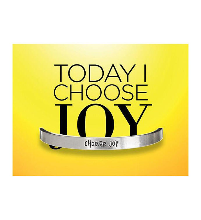 Quotable Cuff - Choose Joy