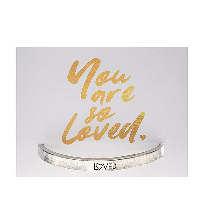 Quotable Cuff - Loved