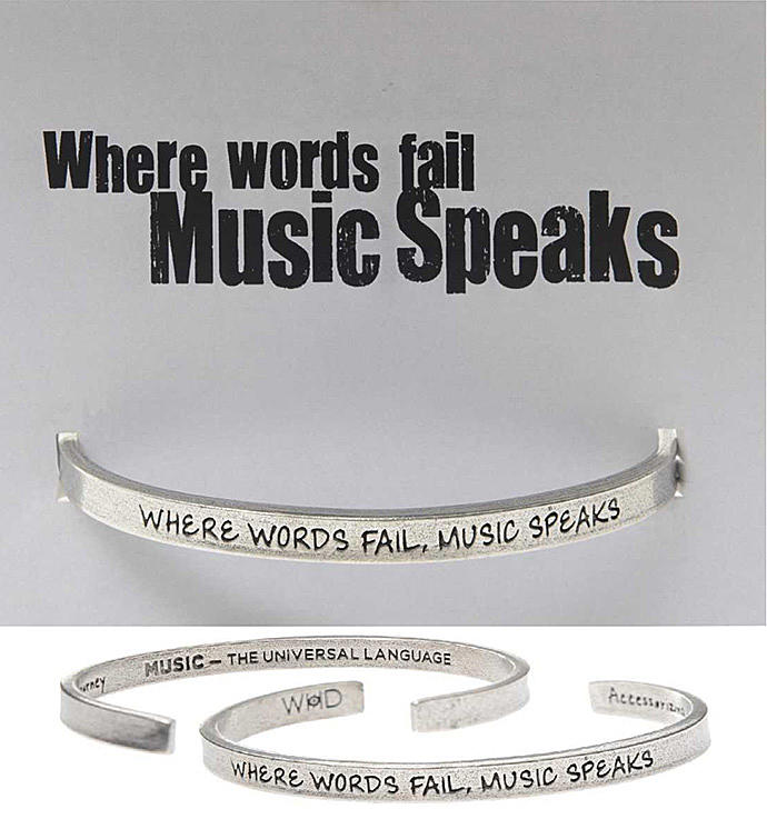 Where Words Fail Music Speaks Quotable Cuff