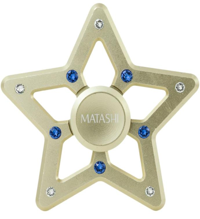 Christmas Tree Star Spinner Ornament