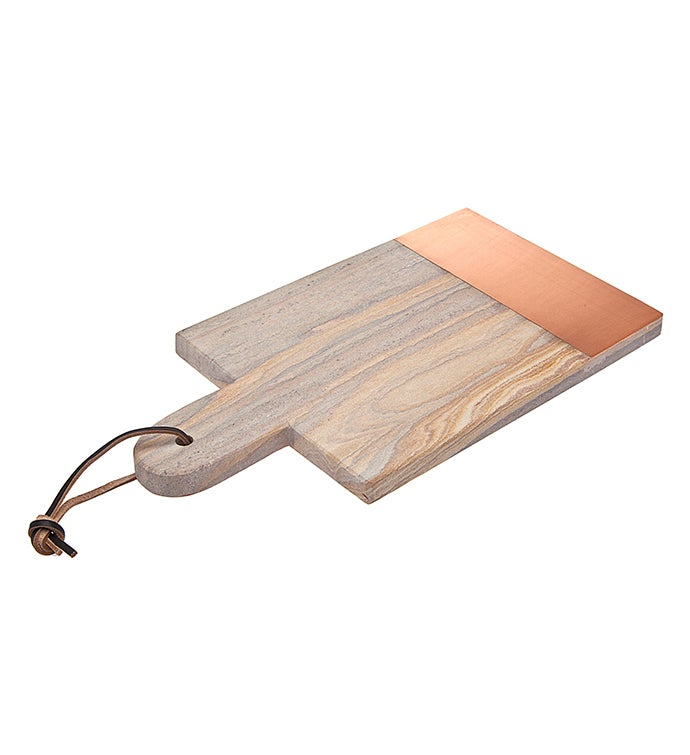 Rainbow Sandstone Copper 14 Rectangle Tray