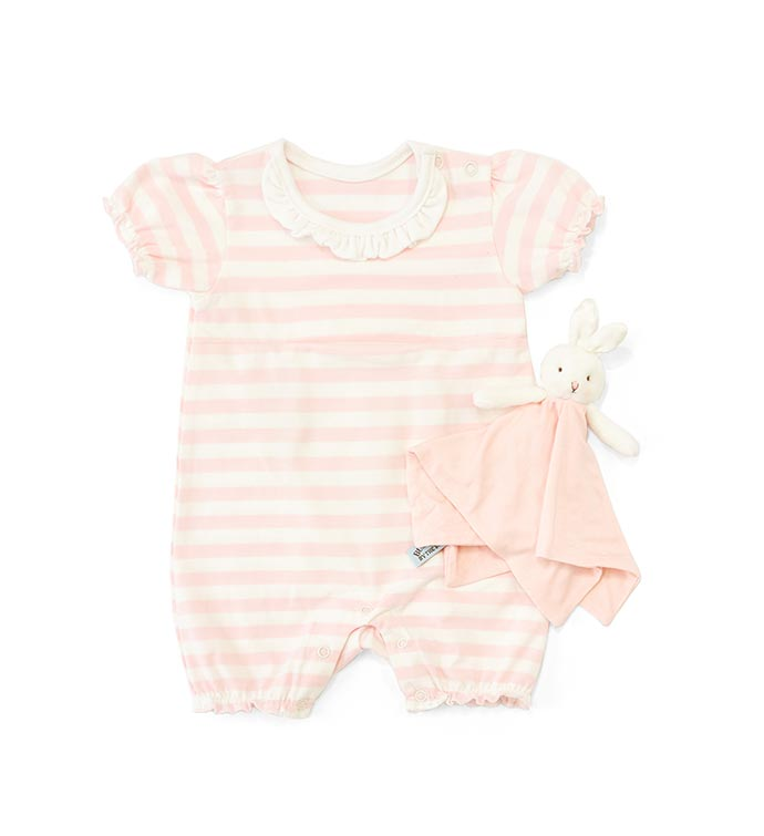Blossoms Romper with Binkie