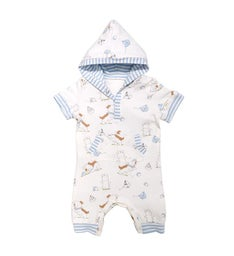 Have A Ball Hooded Romper