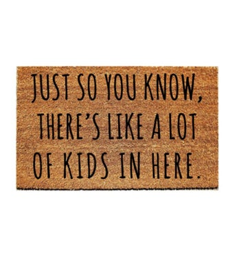 Lots of Kids Doormat