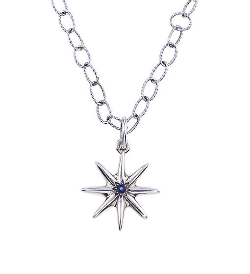Star Necklace in Sterling Silver