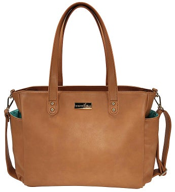 White Elm Aquila Tote Bag – Brown Vegan Leather