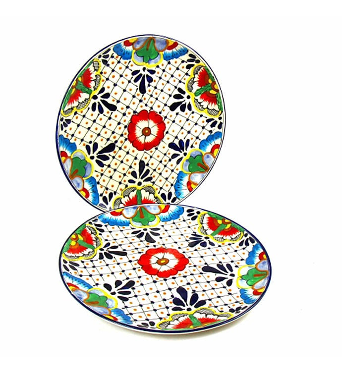 Global Crafts Encantada Dinner Plates Set