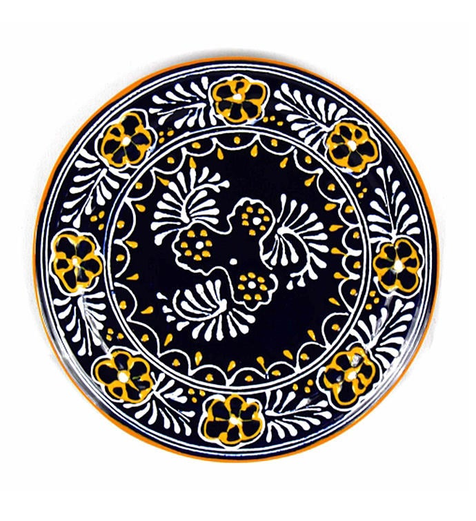 Global Crafts Encantada Handmade Pottery 834 Trivet or Wall Hanging