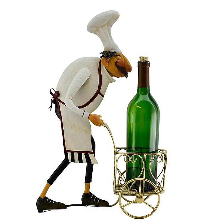 Chef Bottle Holder