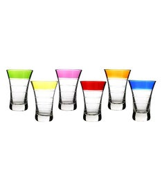 Multicolored Shot Glass Set
