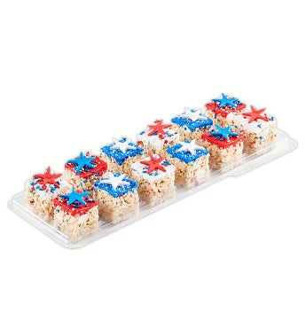 Patriotic Stars Gourmet Rice Krispie Treats from Treat House
