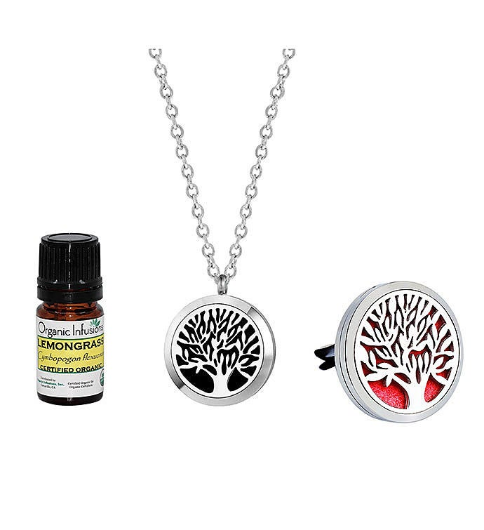 Tree Of Life Aromatherapy Lemongrass Essential Oil Gift Set