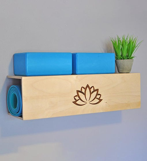 Yoga Mat Storage & Display